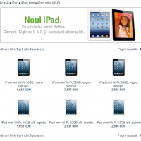 Pret iPad Mini in Romania