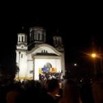 Steag pe biserica