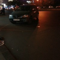Dacia Logan la Unirii