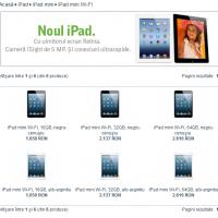 Pret iPad Mini in Romania